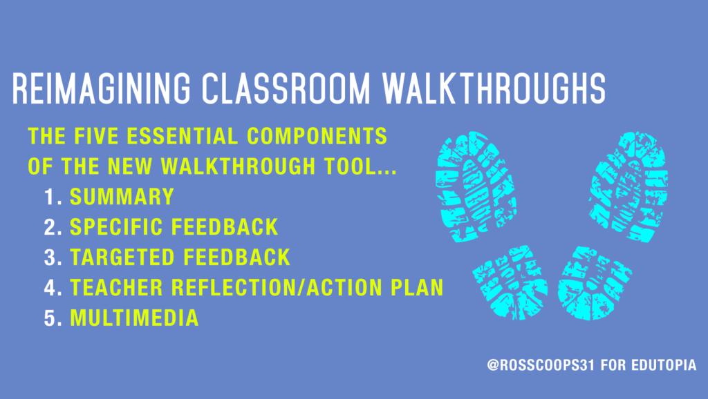 Reimagining Classroom Walkthroughs Cooper On Curriculum